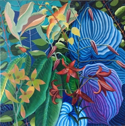 Oil on canvas 80 x 80 cm
