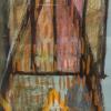 Abstract Yellow Zig Zag